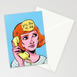 Yes, this is she Stationery Cards