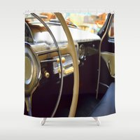 car Shower Curtains featuring Car  by Kristina Haritonova
