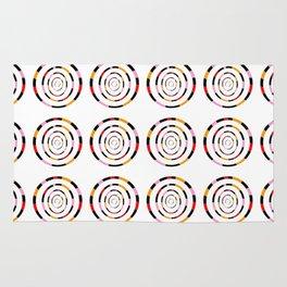 spiral 1-circle,mystical,ring,twist,disc,circular,abstract Rug