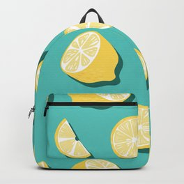Lemon Pattern 05 Backpack