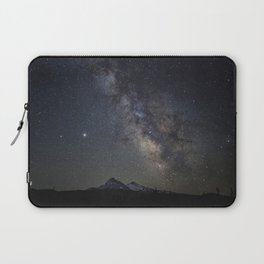 Saturn, Jupiter and the Milky Way over the North and South Sisters Laptop Sleeve