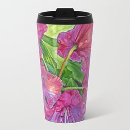 Pink Rhodo Travel Mug