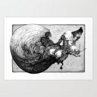 Incrustacean Art Print