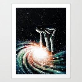 Cosmic Vomit Art Print