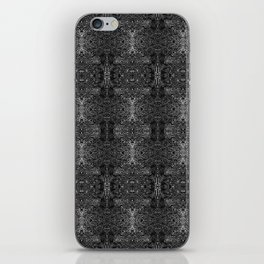 zakiaz blk&gray abstract design iPhone Skin
