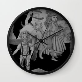 Childhood Of A Surrealist Wall Clock
