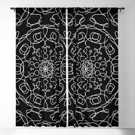 Mandala Black Eye Blackout Curtain
