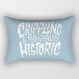 Crippling & Potentially Historic Rectangular Pillow