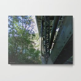 Two Worlds of Deception Pass Metal Print