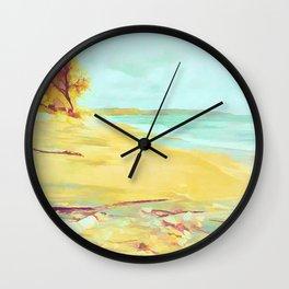 Mellow Beach Wall Clock