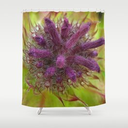 Flower FF Shower Curtain
