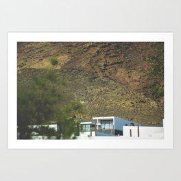 Lanzarote White House Art Print