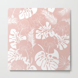 Tropical pattern 020 Metal Print