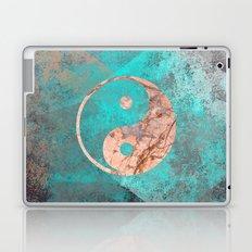 Yin Yang - Rose Turquoise Marble Laptop & iPad Skin