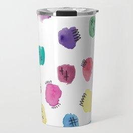 Watercolour Party Travel Mug