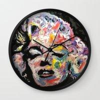 hollywood Wall Clocks featuring Hollywood by Matt Pecson