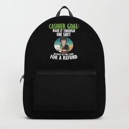 Cashier For Transaction for Cash Lover Backpack