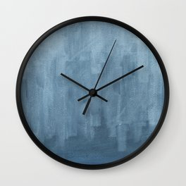 Abstract  / Latvian Winter Wall Clock