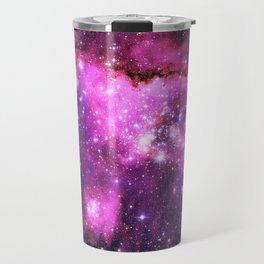 Pink Galaxy Travel Mug