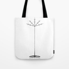 TREE CULT - BLACK Tote Bag