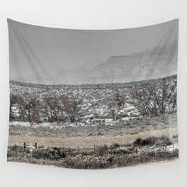 Misty Snow Wall Tapestry