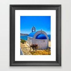 Mykonos, Greece Framed Art Print