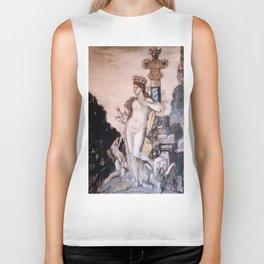 """Gustave Moreau """"Fée aux griffons (grisaille)"""" Biker Tank"""