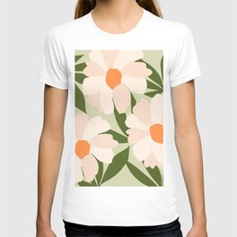 Freya's flower - greenery T-shirt