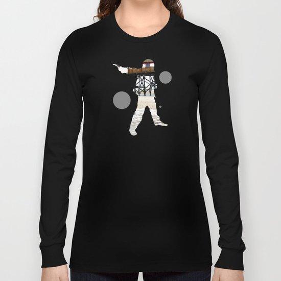 Sea Side Mix Long Sleeve T-shirt
