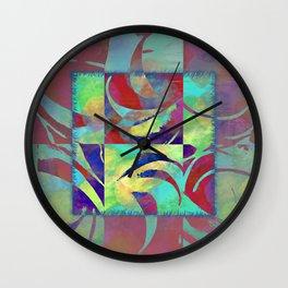 Color taming Wall Clock