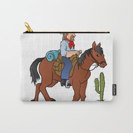 Cowboy on the horse Carry-All Pouch