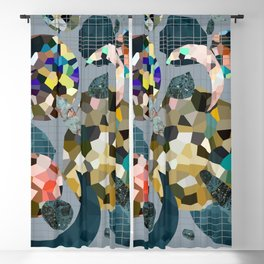 Gemstone Space Moon Blackout Curtain