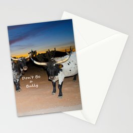 Don't Be a Bully Stationery Cards