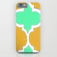 Morocco Orange & Teal iPhone 6s Slim Case