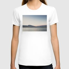 sunset over the lake ... T-shirt