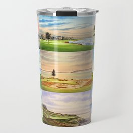 Famous Golf Courses In The USA Collage Travel Mug