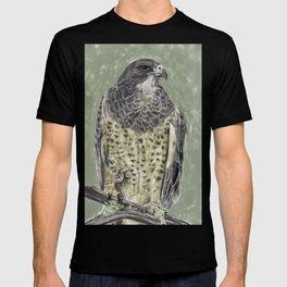Black-chested buzzard-eagle (Geranoaetus melanoleucus) T-shirt