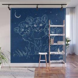 Cerberus as a Kitten Wall Mural