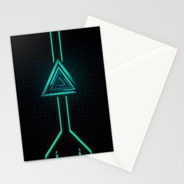 NeoN Green Stationery Cards