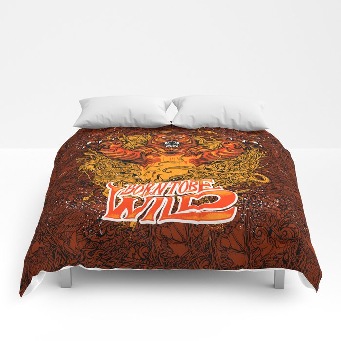 BORN TO BE WILD Comforters