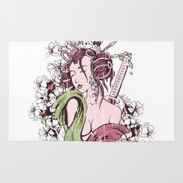 Geisha Art Rug