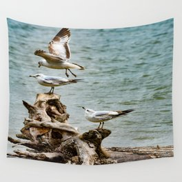 Two On - One Off Wall Tapestry