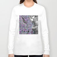 chicago Long Sleeve T-shirts featuring chicago  by Bekim ART