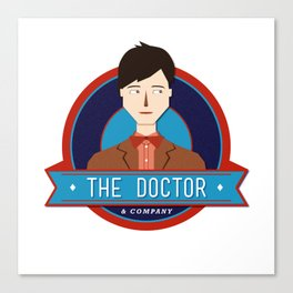 The Doctor & Company Canvas Print