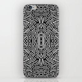 Radiate (BW) iPhone Skin