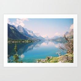St. Mary Lake #2 Art Print