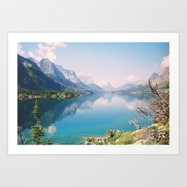 St. Mary Lake #2 Art Print