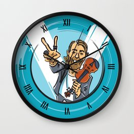 V for Violin Wall Clock