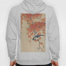 Ohara Koson - Japanese Bird Blockprint Hoody