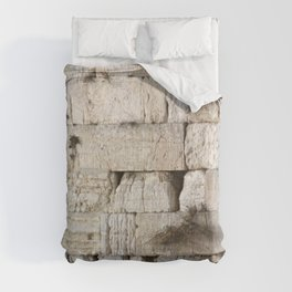 Jerusalem - The Western Wall - Kotel #4 Comforters